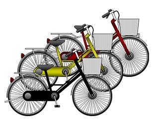 自転車回収のイメージ